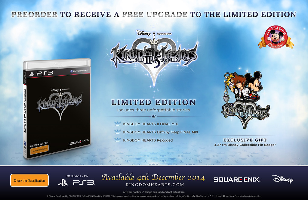 Kingdom Hearts Hd 25 Remix Limited Edition Detailed In Full
