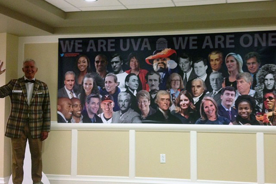 July 14, 2014 - Stop by the #SelfieStation on the first floor of Newcomb. Tweet your selfies @UVADeanGroves for a chance to win a free lunch with Dean Groves.
