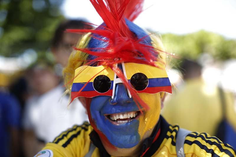 (9)BRASIL-FORTALEZA-COLOMBIA-MUNDIAL 2014-AFICIONADOS