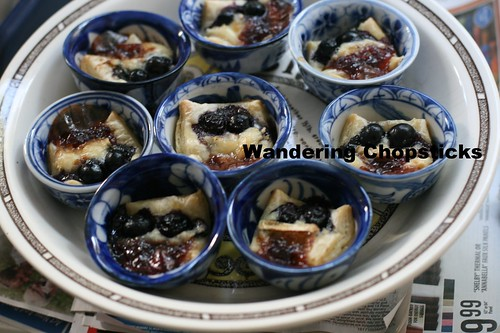 Red (Lingonberry), White (Brie), and Blue(berry) Puff Pastry Tarts 6