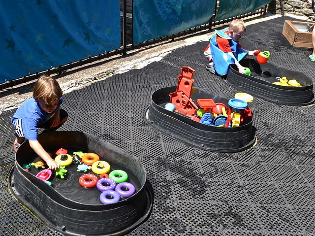 Water activities - Children's Museum of Manhattan
