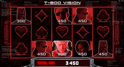 Terminator 2 T-800 Vision Feature