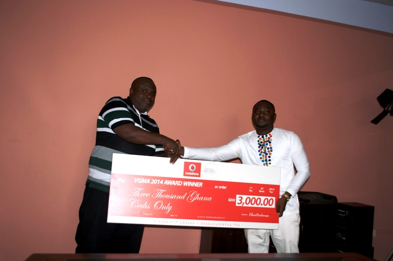 2014 Vodafone Ghana Music Awards winners receive cash prizes