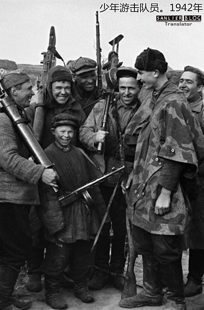 伟大卫国战争中的儿童64