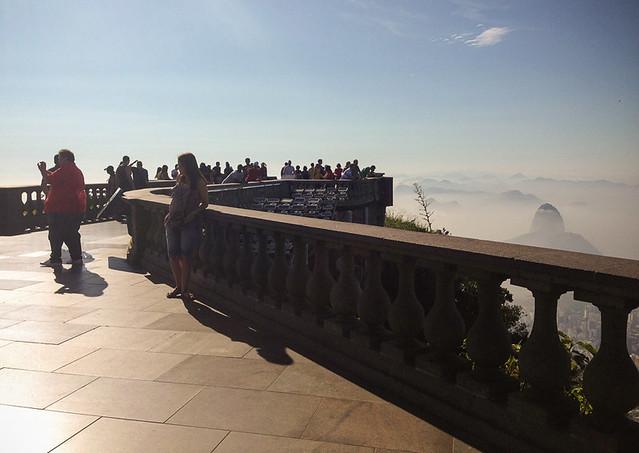 Christ the Redeemer observation deck