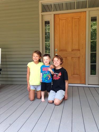 Amelia, Franklin, Braxton