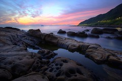 Mirror Reef ~Dawn of Waimu Shan Coastal 基隆,外木山~