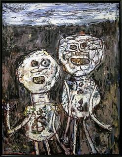 Déambulation - Jean Dubuffet - 22 juillet 1961