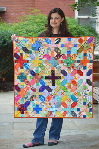 X and Plus Quilt 2