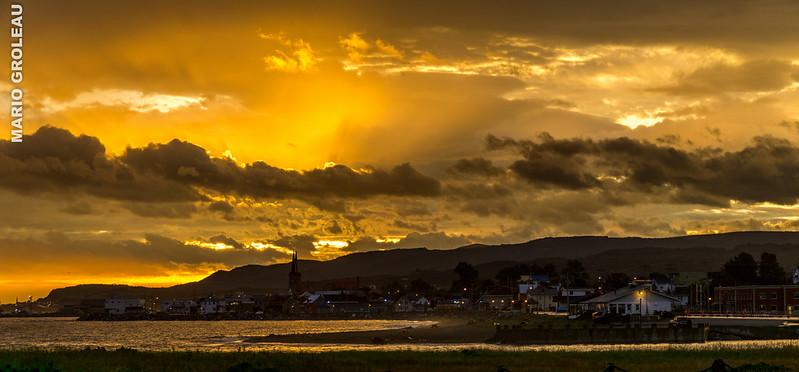 Sainte-Anne-des-Monts aux petites heures du matin (2)