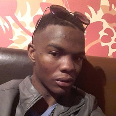 Enjoying my fresh clean shaved face nd revamped hair do