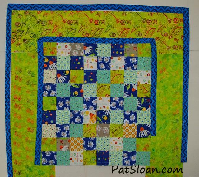 pat sloan scrap square quilt 10