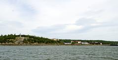 Grosse Île (Québec, Canadá). Llegada a la isla