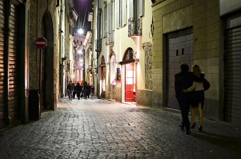 After Dark, Bergamo, Italy