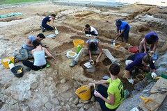 Scavi archeologici Badia Pozzeveri Fieldschool 1 2014