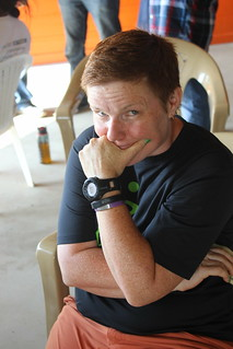 DC Skydiving Center - Karen's Tentative Face