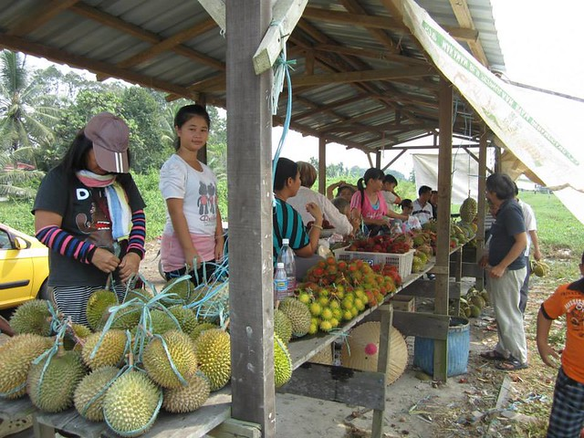 Durin fruit stall