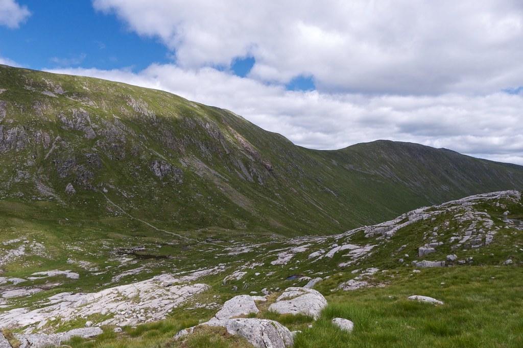 Stob a'Bhruaich Leith ridge