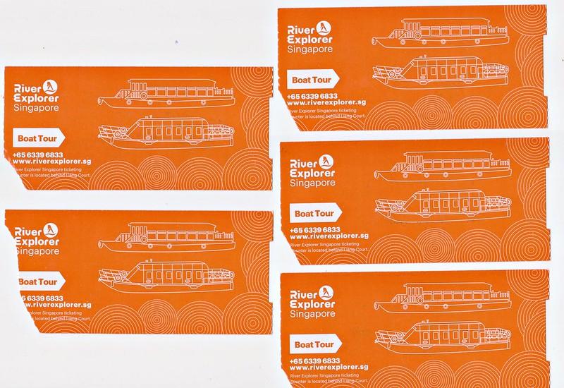克拉克碼頭船票 001