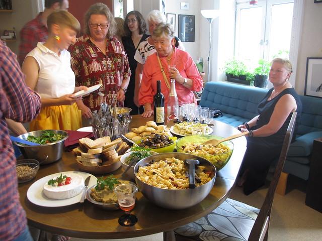 ina's graduation party, malmö