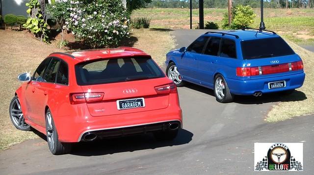 Audi RS6 Avant vs. Audi RS2 Avant