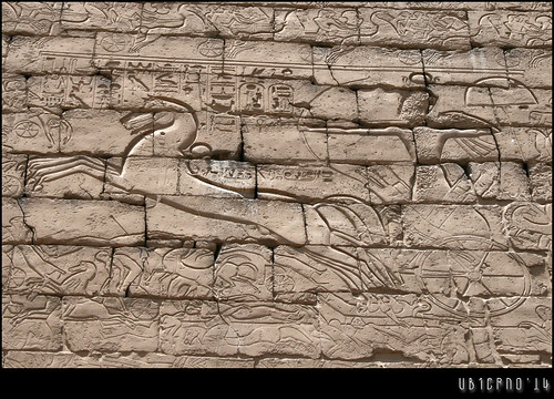 Rameses II in the Battle of Kadesh