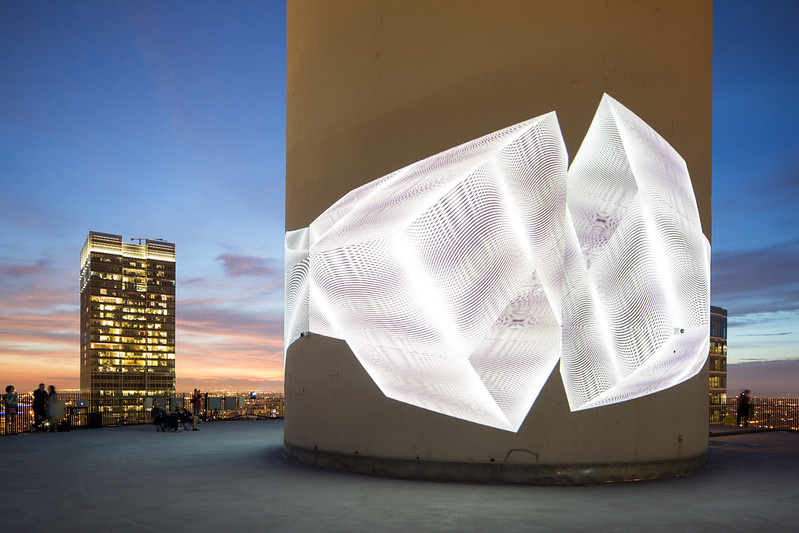 Luftwerk's Installation at Marina City, Presented by Mas Context