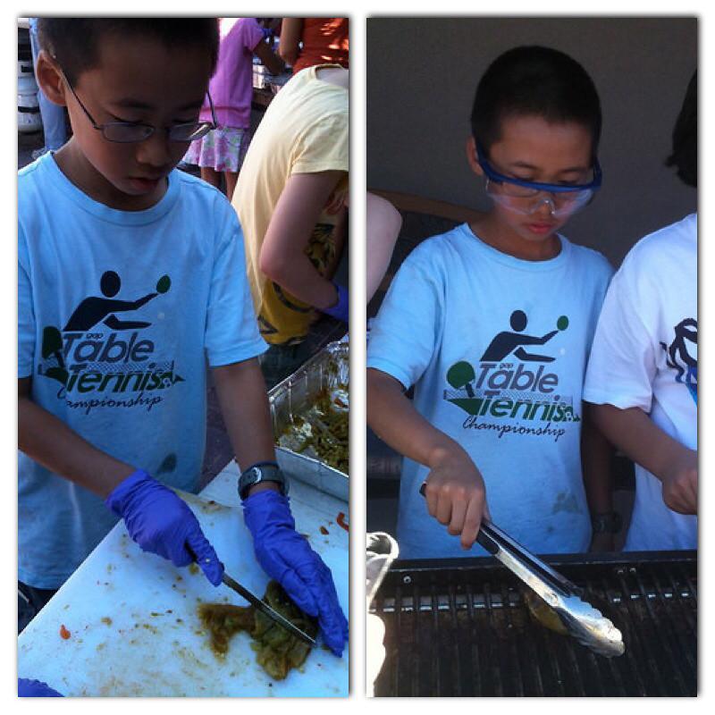 Preparing green chile