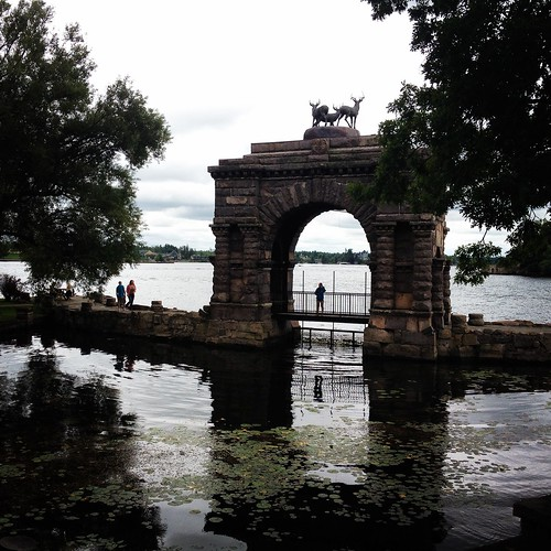 The Arch, at Boldt Castle