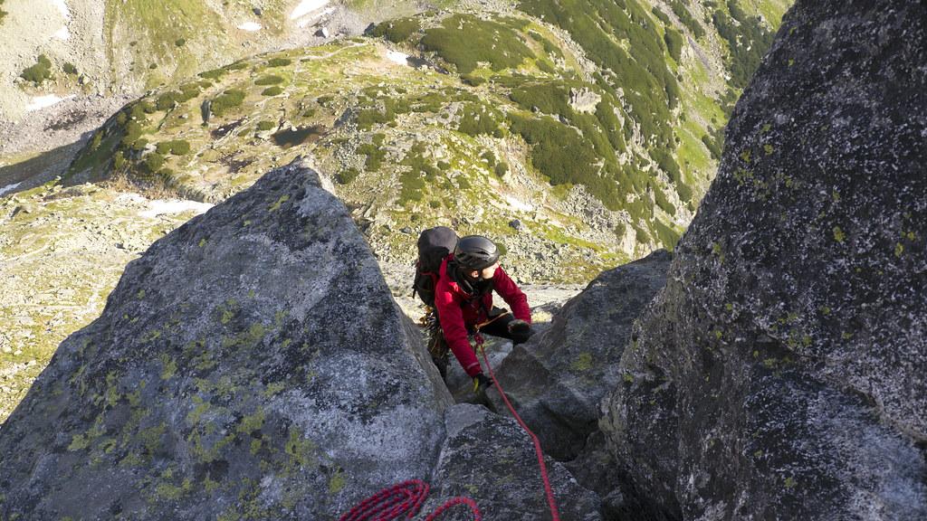 Climbing on Mnich