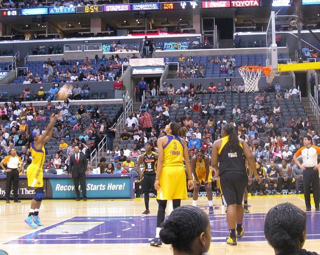 La sparks game staples center explore victoriabernal39s for Staples bernal