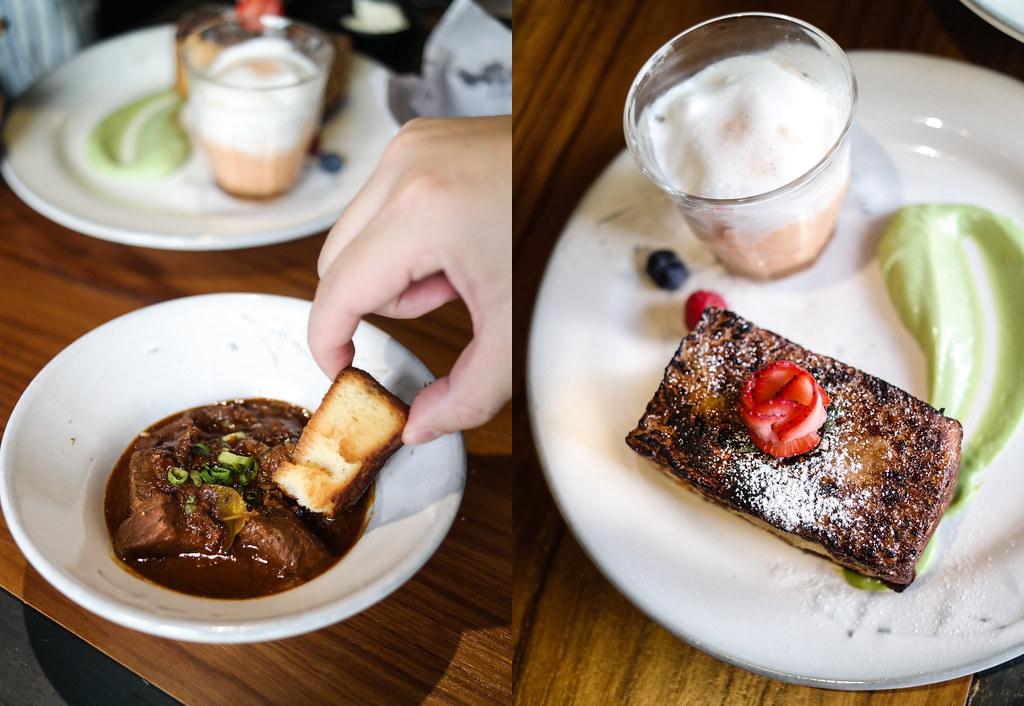 Sunday Market's Sirloin Rendang & Bangkok toast