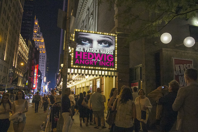 Hedwig and the Angry Inch on Broadway in NYC