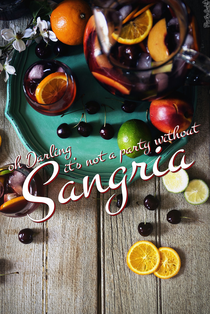 The Only Sangria Recipe You'll Ever Need || PasstheSushi.com