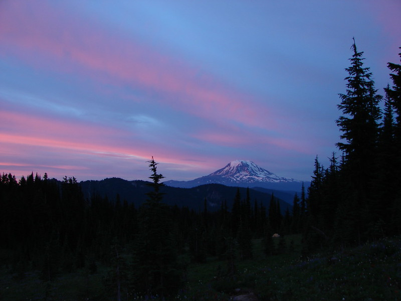 Mt. Adams at sunrise