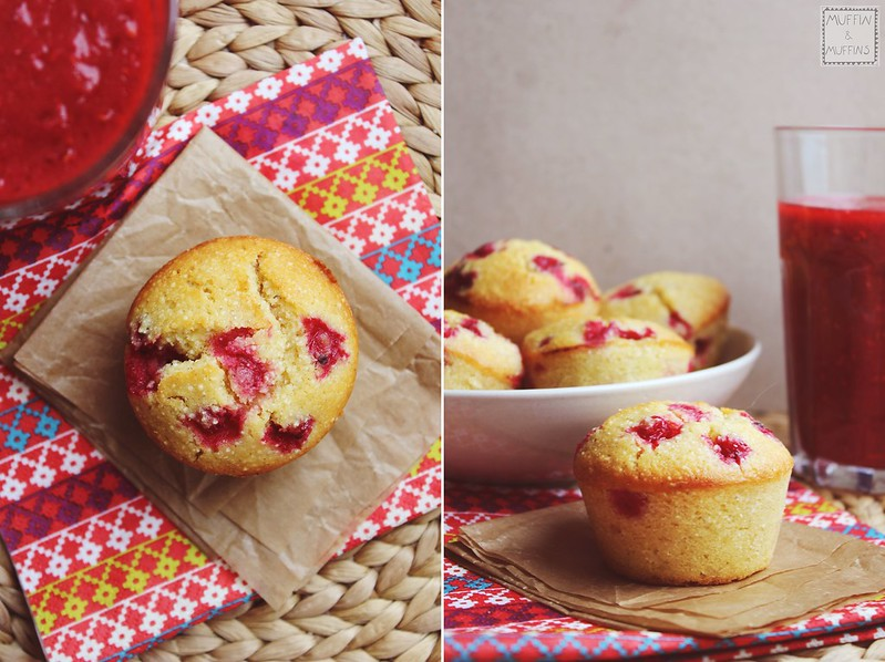 Gluten Free Red Currant Muffins