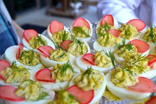 Jacoby's deviled eggs