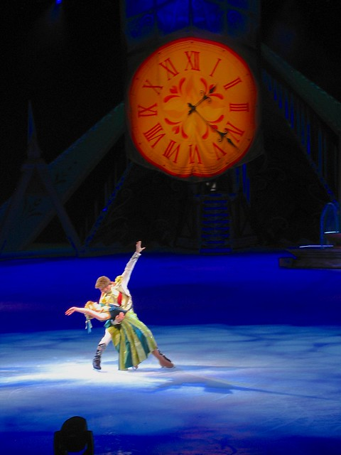 Frozen Disney On Ice skating show debut in Orlando