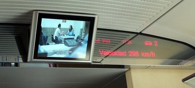 Trem de Madri a Barcelona