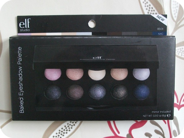 ELF NYC Baked Eyeshadow Palette