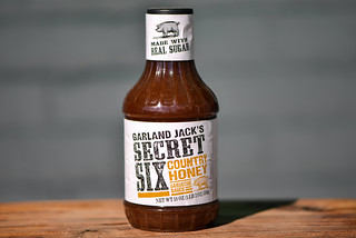Garland Jack's Secret Six Country Honey Barbecue Sauce
