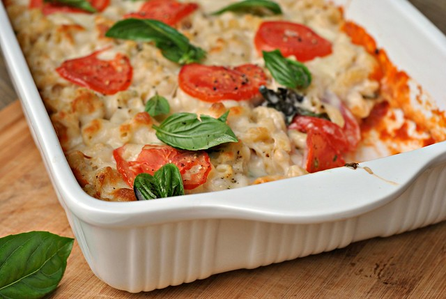 Caprese Macaroni and Cheese 4