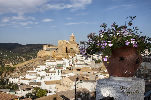 castillo,pantano,cordoba,Iznájar,fotografia