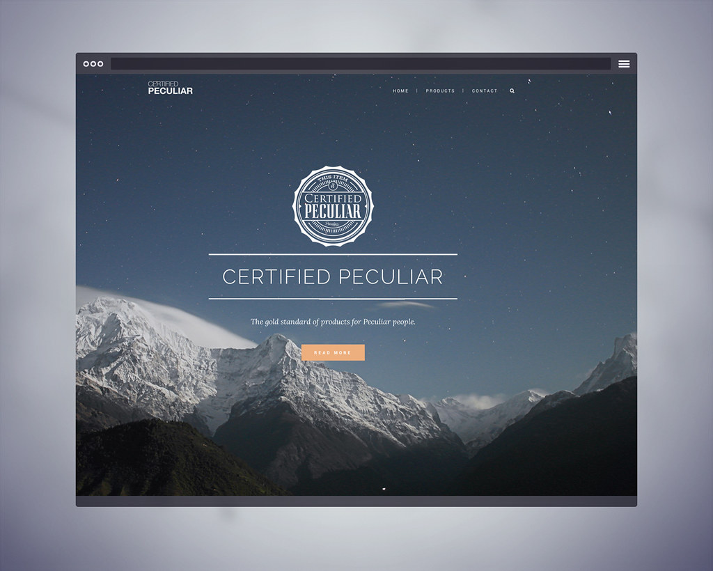 Certified Peculiar Website