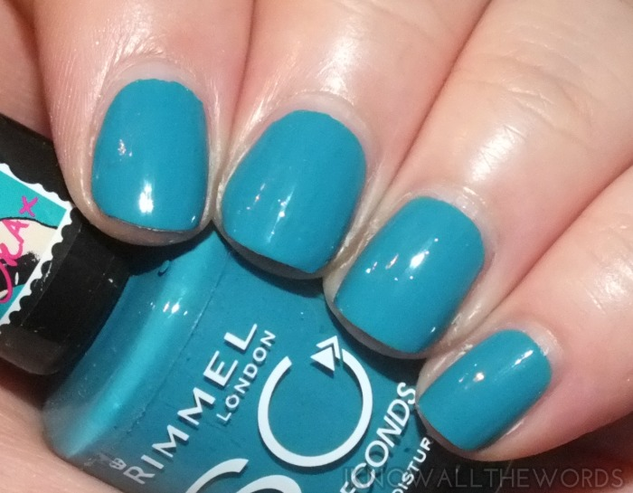 rimmel 60 second nail polish x rita ora- do not disturb