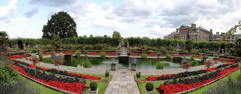 Kensington Palace, Sunken Garden Pond