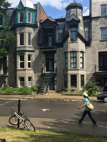 Street scene in Montreal