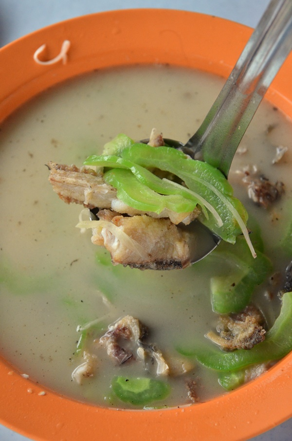 Ikan Haruan Soup with Bitter Gourd