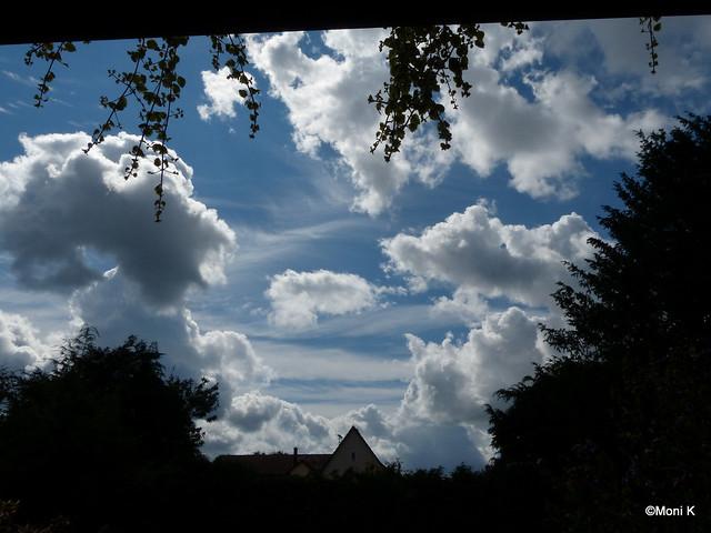 38-der August zeigte viele schöne Wolkenbilder