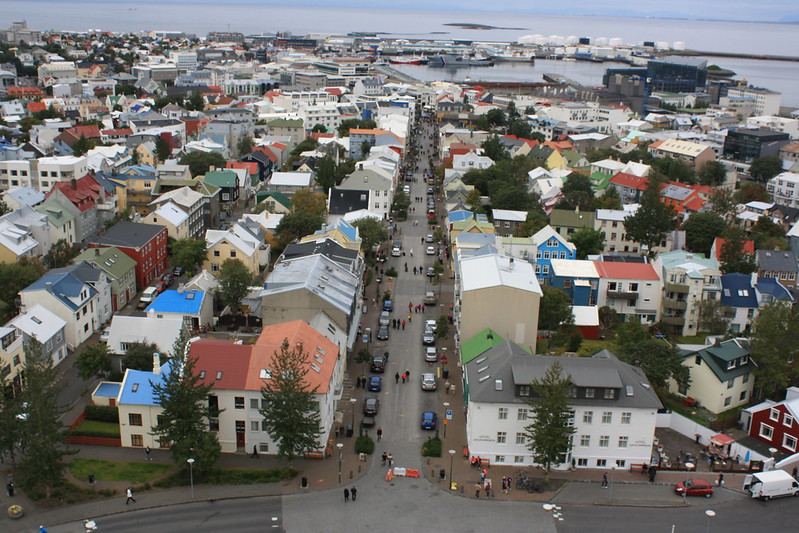 Reykjavik view from the tower 2